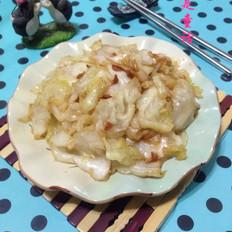 黄豆酱包菜