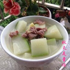 毛瓜瘦肉汤