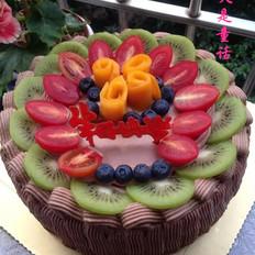 鲜果生日蛋糕