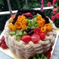 果篮生日蛋糕