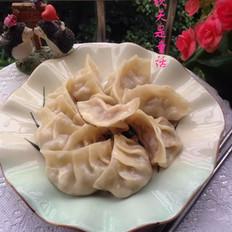 香菇鲜肉蒸饺