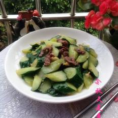 青瓜炒牛肉