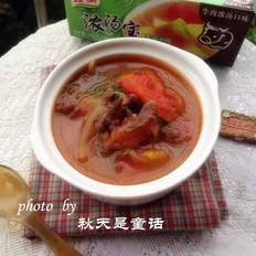 蕃茄牛肉浓汤