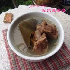 海带绿豆排骨汤