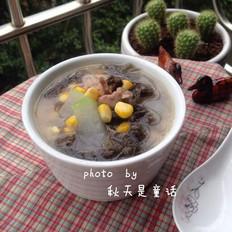 紫菜玉米冬瓜汤
