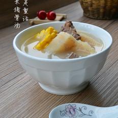 粉葛玉米猪骨汤