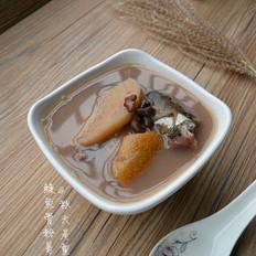 粉葛赤小豆鲮鱼汤