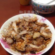 虫草花香菇蒸鸡