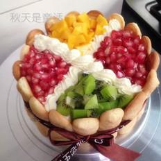 芒果芝士慕斯蛋糕