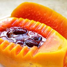 经典木瓜炖雪蛤