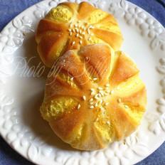 小雏菊椰蓉面包