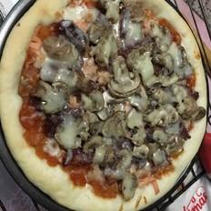 蘑菇香肠披萨