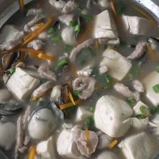 海蛎豆腐煲