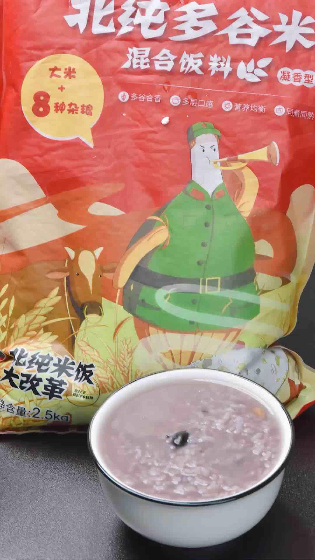 蜂蜜多谷米粥