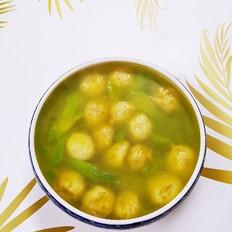 鱼丸丝瓜汤