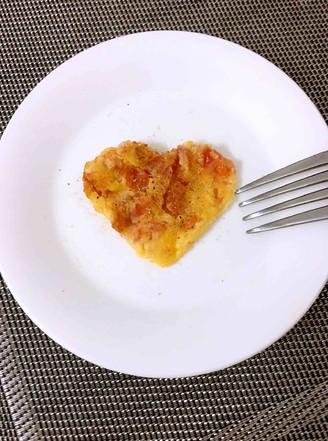 西红柿鸡蛋饼的做法