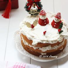 圣诞裸蛋糕