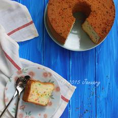 彩色戚风蛋糕