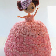 迷糊娃娃蛋糕