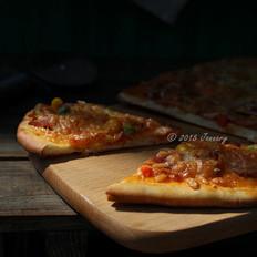 薄饼脆皮披萨