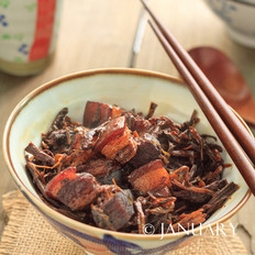 苏泊尔蒸汽球釜梅干菜红烧肉