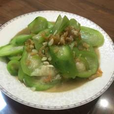 鲜甜虾米丝瓜