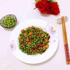 豌豆小炒肉
