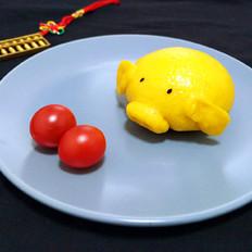 小猪南瓜馒头