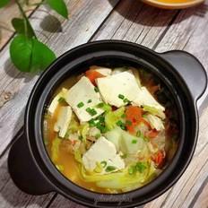 五花肉白菜煲