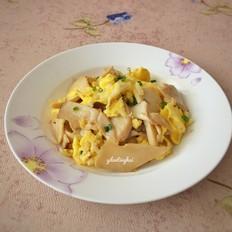 杏鲍菇银鱼鸡蛋