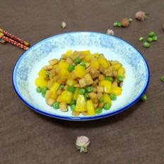 杏鲍菇豌豆炒辣椒
