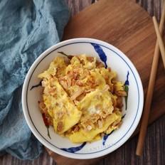 萝卜干煎蛋