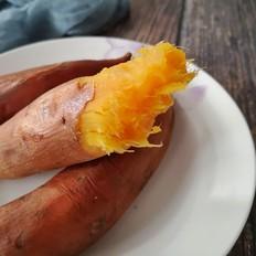 电饭锅版烤红薯