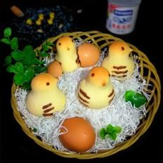 萌萌哒小鸡烧果子的做法
