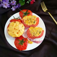 西红柿米饭盅