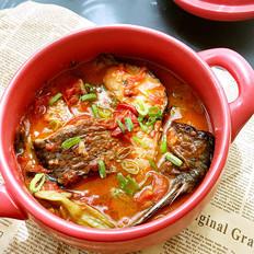 番茄鱼尾煲