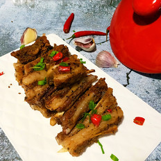 砂锅烤羊排