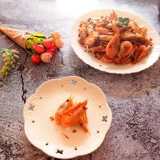 蒜蓉北极野生虾