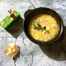 白菜肉片浓汤