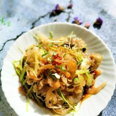 椒油海蜇丝