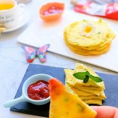 酸酸甜甜的鸡蛋小饼