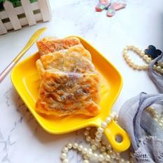 三明治紫薯手抓饼
