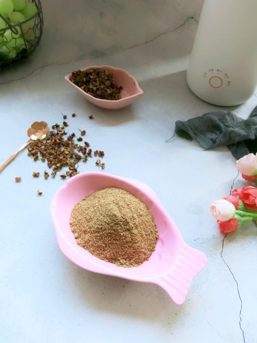 自制麻香花椒粉