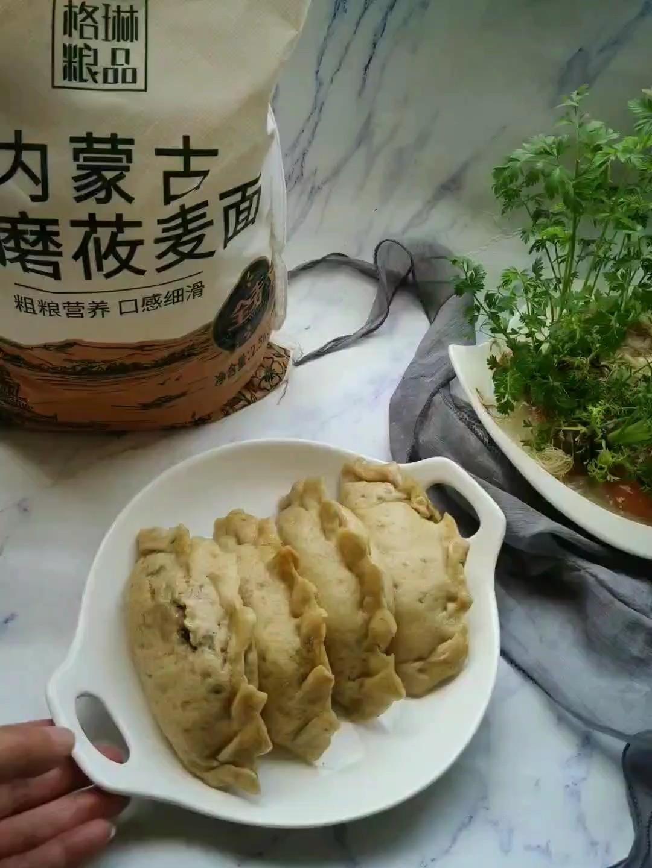 莜面蒸素饺