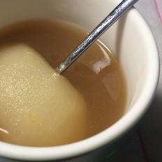 麦芽糖炖雪梨
