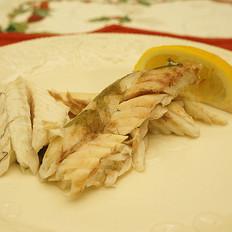 盐焗海鲈鱼