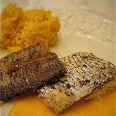 八角茴香火烧鲷鱼