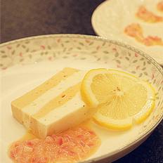 Q弹鱼肉糕配白黄油酱