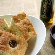 亚麻籽油佛卡厦面包