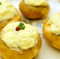 奶油奶酪酿蘑菇
